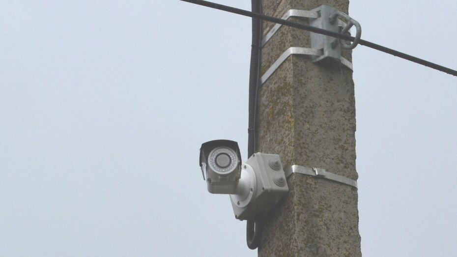 В центральном парке Нижнедевицка установили видеокамеры