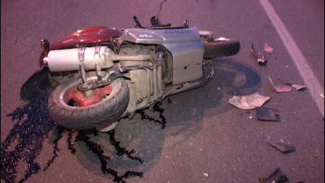 В Рамонском районе «БМВ Х5» столкнулся с мопедом. Водитель мопеда погиб
