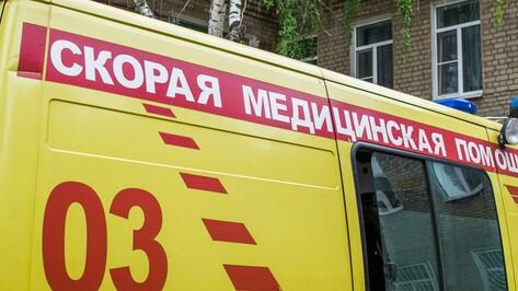 На трассе под Воронежем столкнулись мусоровоз и «семерка»