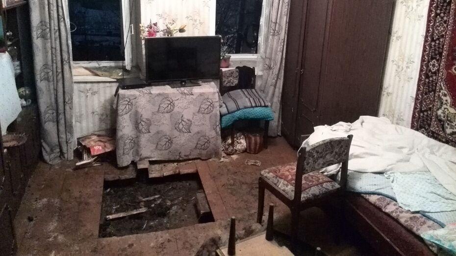 В Борисоглебске из-за невыключенного обогревателя загорелся многоквартирный дом