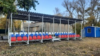 В бобровском селе Семено-Александровка активисты построили стадион