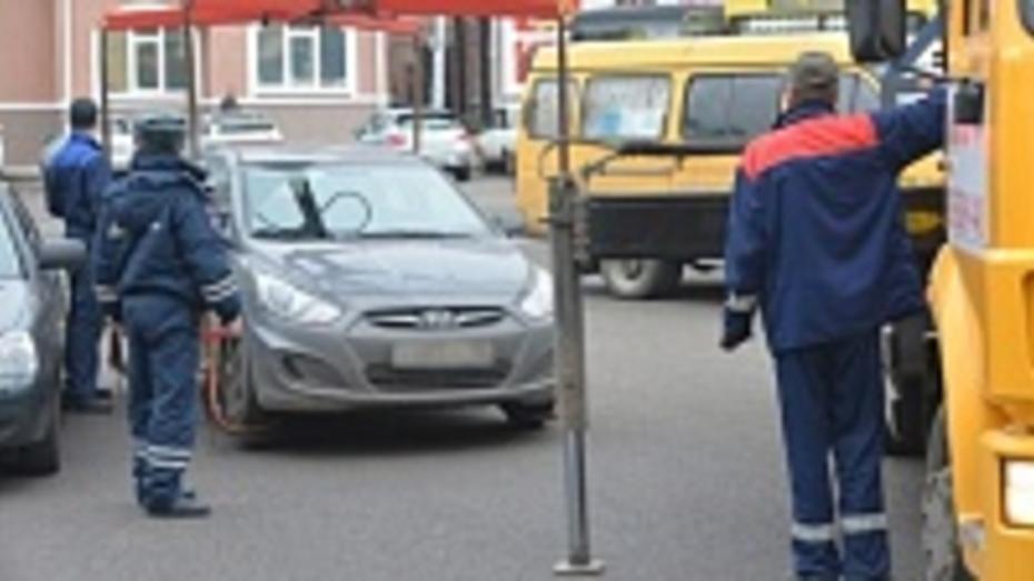 Эвакуаторы очистят воронежскую улицу Космонавтов от машин
