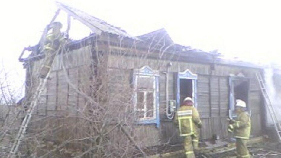 В Воронежской области мужчина сгорел из-за неисправности электропроводки
