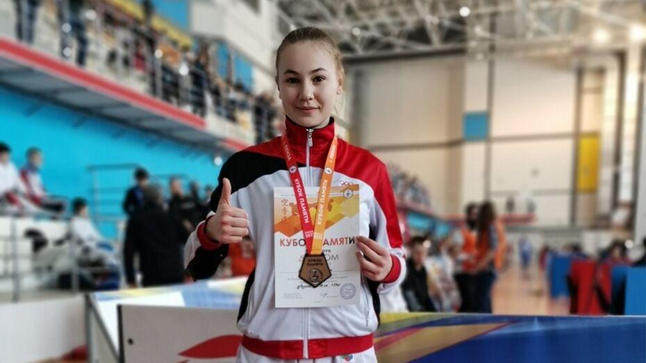 Борисоглебская каратистка взяла «бронзу» всероссийских соревнований