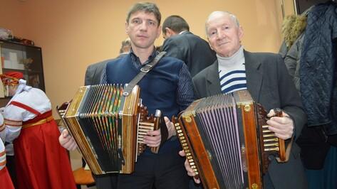 В Рамонском районе прошел межрегиональный фестиваль гармонистов
