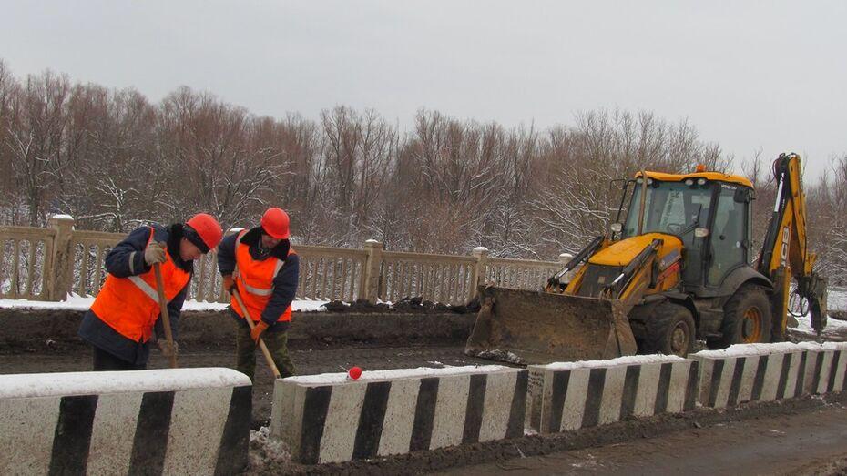 В Боброве отремонтируют мост через реку Битюг