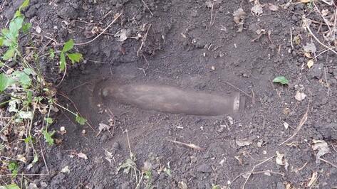 В Петропавловском районе нашли 2 артиллерийских снаряда времен войны