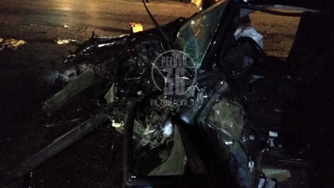 Воронежские следователи возбудили дело после ДТП с таксистом и полицейским