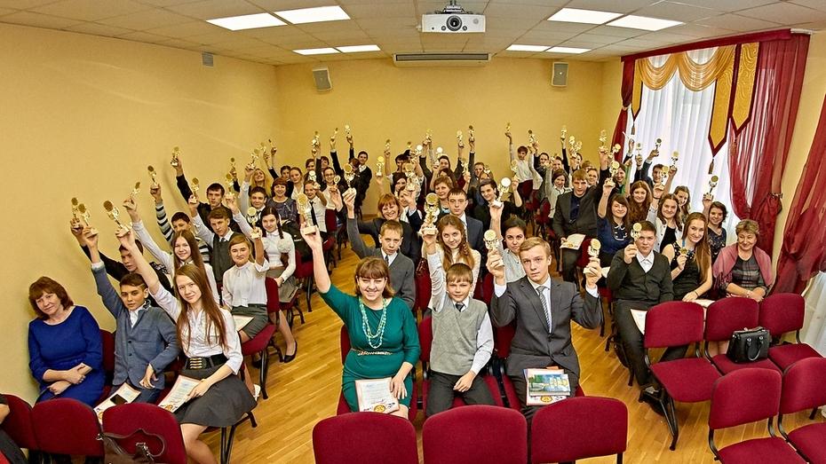 В Анне наградили призеров региональной олимпиады школьников