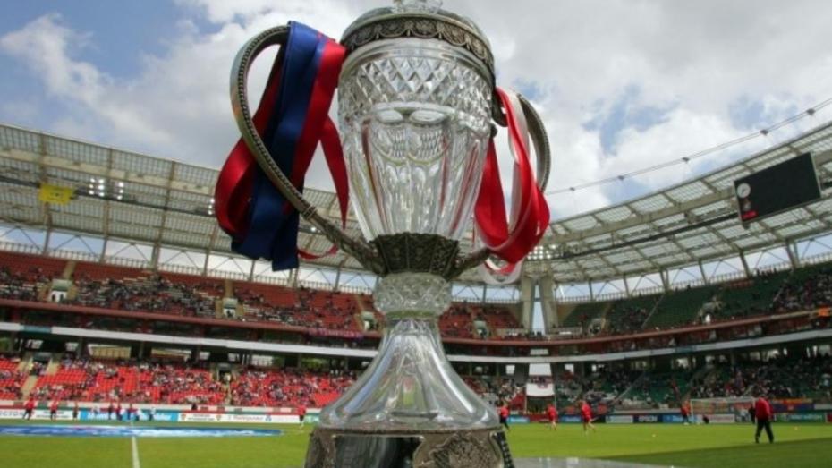 Финал Кубка России по футболу могут провести в Воронеже