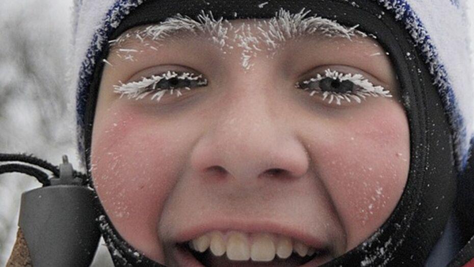 Аномальный мороз в Воронеже продержится до четверга