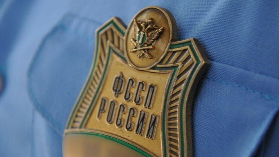 В Воронежской области объединили 2 районных отдела судебных приставов