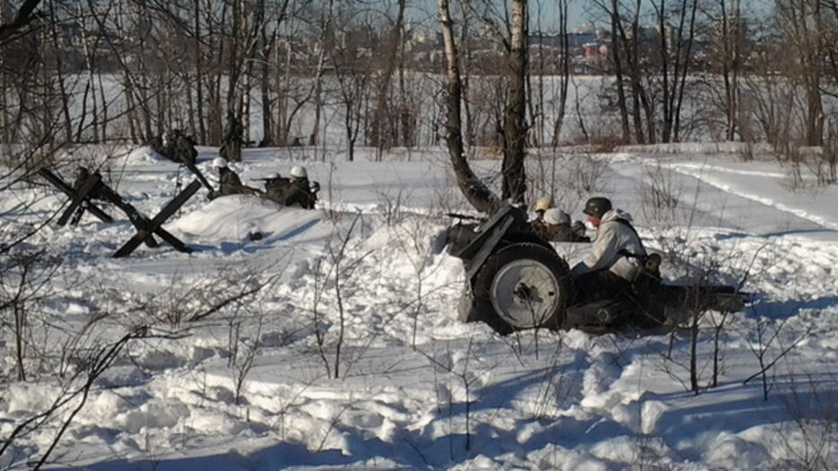В реконструкции боев за Воронеж горожане нашли историческую правду и современную романтику