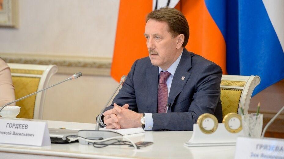 Видеотрансляция встречи губернатора Алексея Гордеева с журналистами воронежских СМИ