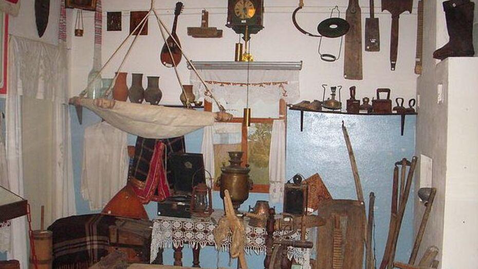 В Терновском районе учитель истории построила в школьном музее крестьянскую избу