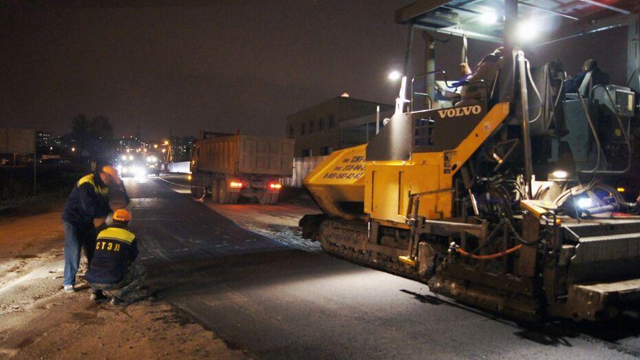 Воронежские строители отремонтируют муниципальную дорогу