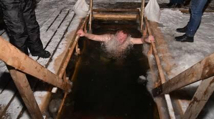 «Страшно было заходить». Искупавшиеся в Крещение воронежцы поделились впечатлениями