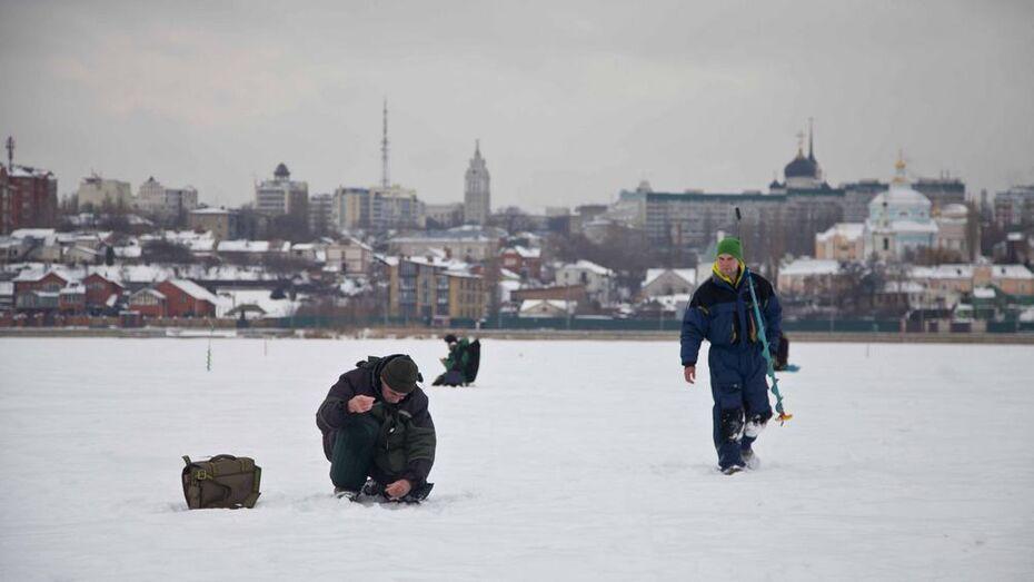 Воронеж принял чемпионат России по ловле на мормышку со льда