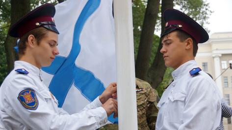 В Воронеже поднимут Андреевский флаг на затонувшем в водохранилище судне