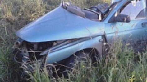 В Воронежской области при столкновении Mazda и «ВАЗ» один человек погиб и двое ранены