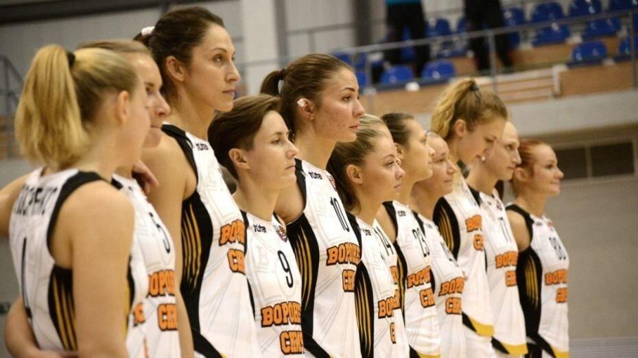Воронежские баскетболистки стартовали с победы в плей-офф