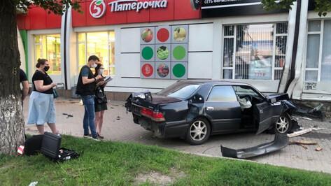 Смертельное ДТП на Ленинском проспекте в Воронеже попало на видео