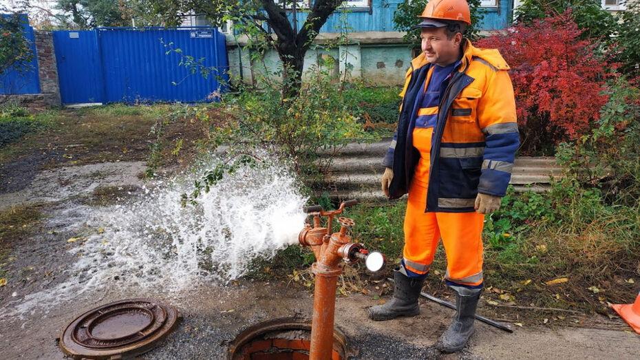 «Росводоканал Воронеж» завершает проверку пожарных гидрантов