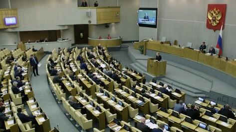 Воронежские депутаты Госдумы в 2015 году заработали 74,2 млн рублей