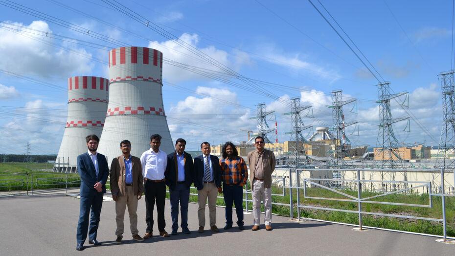 Нововоронежскую АЭС посетили представители экспертного сообщества республики Бангладеш