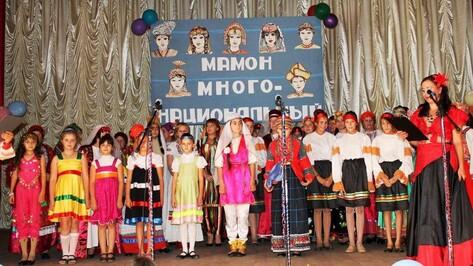 В верхнемамонском селе прошел районный фестиваль «Мамон многонациональный»