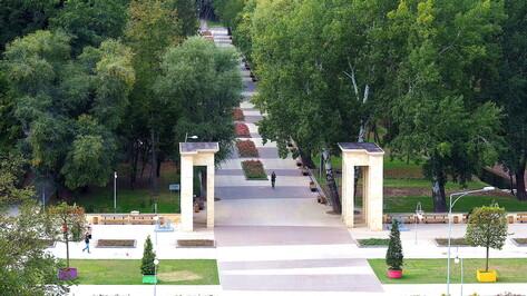 Центральный парк в Воронеже привели в порядок и открыли для посетителей