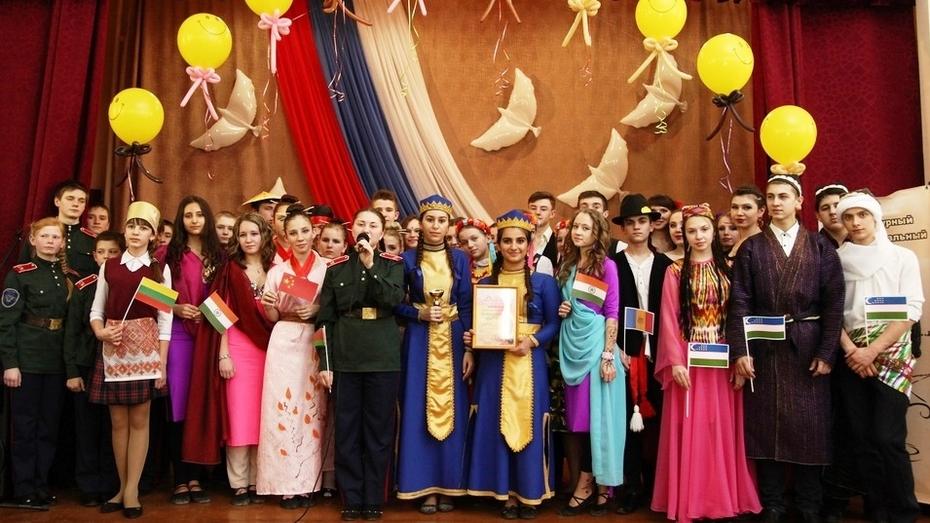 В Острогожске прошел литературный межнациональный фестиваль