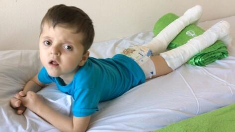 Петербургские врачи прооперировали 4-летнего героя РИА «Воронеж»
