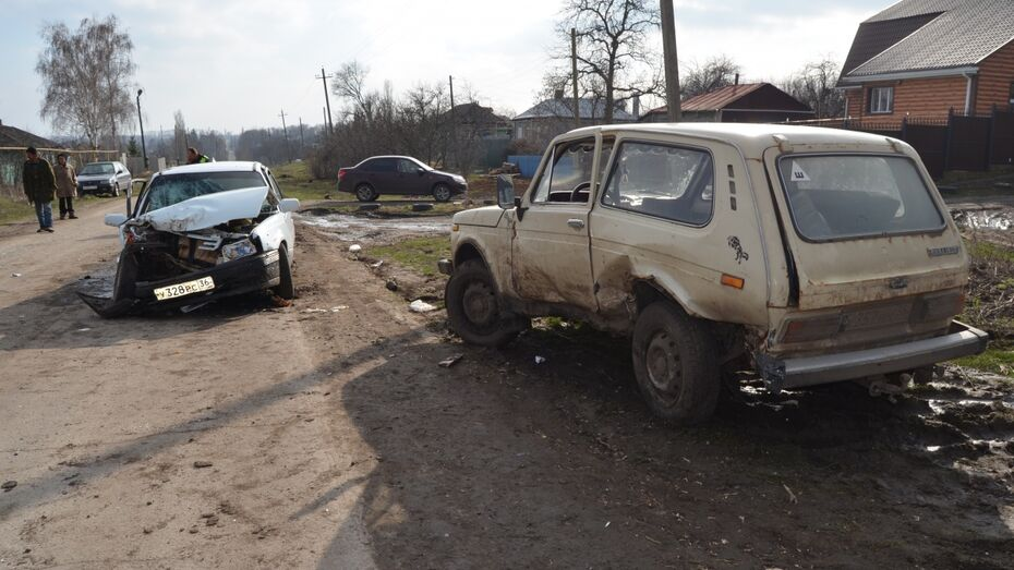 Два человека пострадали в казусном ДТП в Семилукском районе