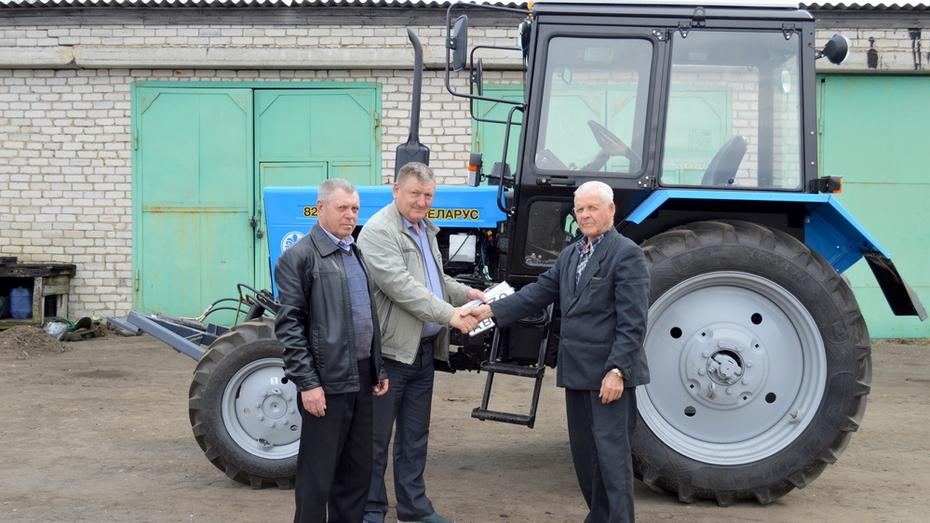 В Терновское коммунальное хозяйство приобрели трактор