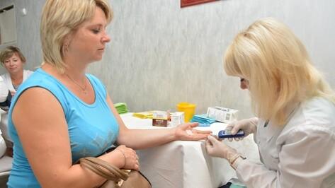 В Острогожской поликлинике прошел «Летний день здоровья»