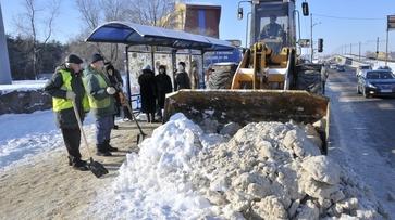 Воронежские дорожники отправились на помощь коллегам в занесенную снегом Московскую область
