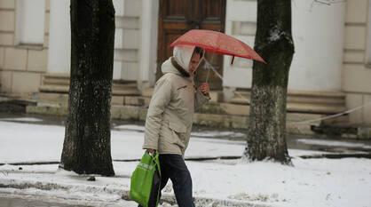Снег с дождем может пойти в выходные в Воронежской области