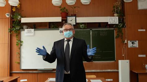 Олег Мосолов – о дистанционке в воронежских школах: «Не пойму, откуда слухи»