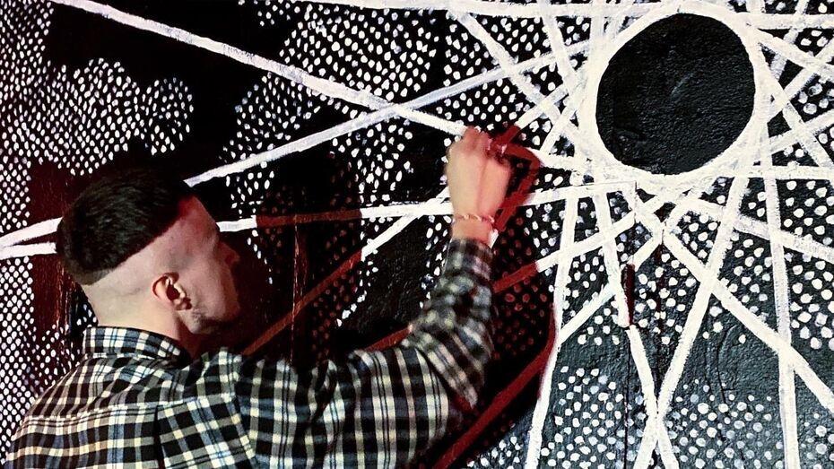 Воронежский художник выложил видео с закраской своей работы задом наперед