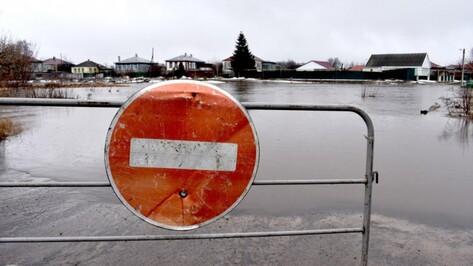 Из-за паводка на затопленных территориях оказались 3 тыс жителей Воронежской области