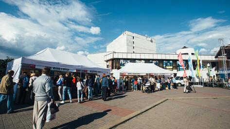 В Воронеже вход на Советскую площадь будут закрывать по ночам во время книжной ярмарки