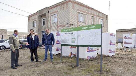 ФАП построят к осени в лискинском селе Владимировка