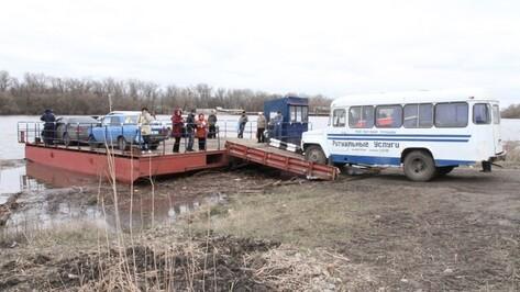 В Богучарском районе понтонный мост отправят на ремонт