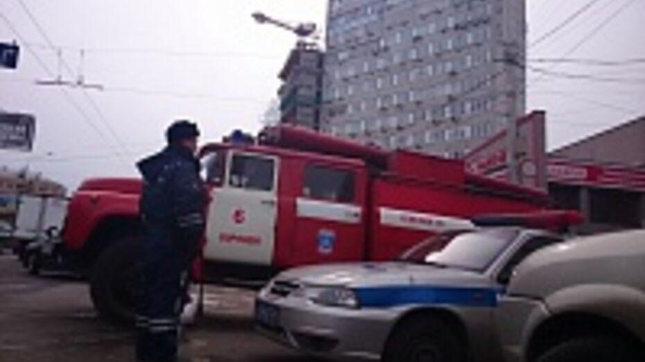 В центре Воронежа из-за сообщения о бомбе эвакуировали сотни работников офисного центра