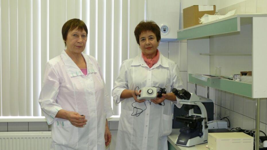 В Рамонском районе открылись новая бактериологическая лаборатория