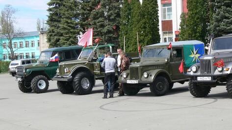 В Верхнехавском районе стартовал автопробег по местам братских захоронений