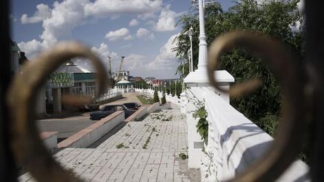 Двойной кордон. Кто закрыл от воронежцев смотровую площадку возле Дворца детей