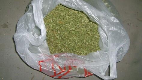 В Воронежской области парень попытался продать полицейским марихуану