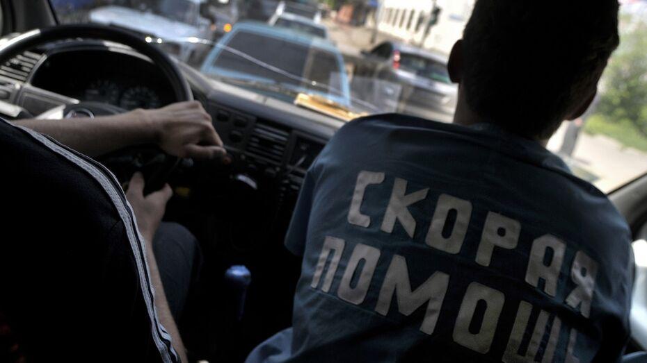 В Воронеже в ДТП пострадали 8-летний мальчик и годовалая девочка